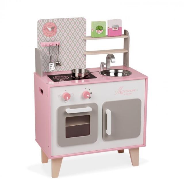 【Janod】妙廚師好料理-粉紅廚具組/含配件