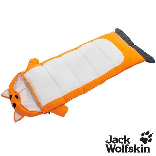 【Jack wolfskin 飛狼】Fox 橘色小狐狸兒童睡袋(舒適溫度:5 ~ 16°C)