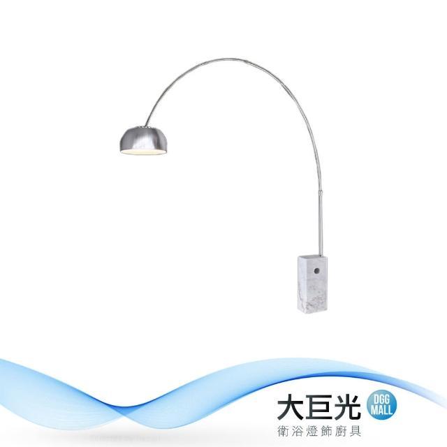【大巨光】古典風-E27 單燈立燈-大(ME-5031)
