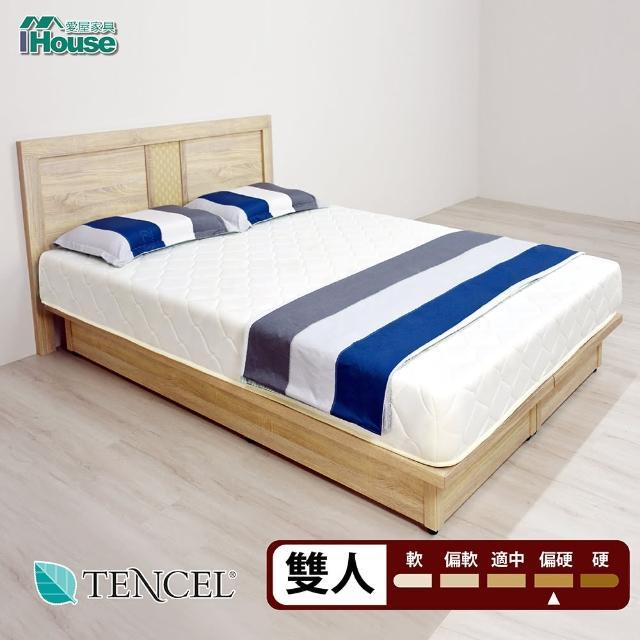 【IHouse】天絲防蹣抗菌愛麗絲彈簧床墊(雙人5尺)