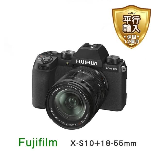 【FUJIFILM 富士】X-S10+18-55mm 單鏡組(平行輸入)