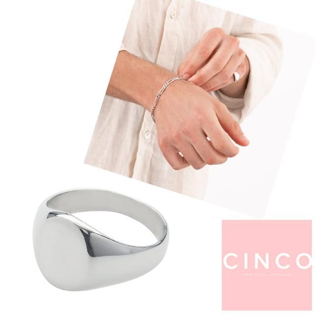 【CINCO】葡萄牙精品 Giovanna ring 925純銀尾戒 圓形素面尾戒(925純銀)