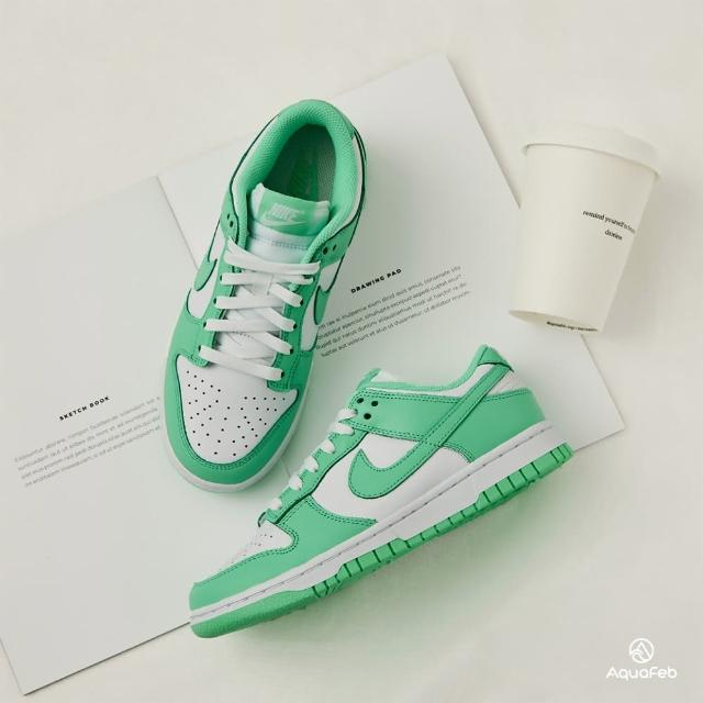 """【NIKE 耐吉】W Dunk Low """"Green Glow"""" 女 薄荷綠 低筒 經典 休閒鞋 DD1503-105"""