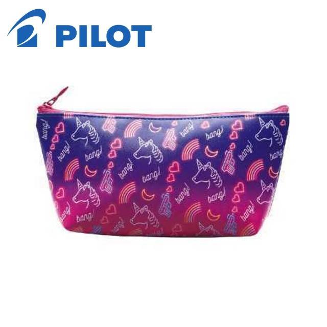 【PILOT 百樂】限量NICOLA大容量筆袋