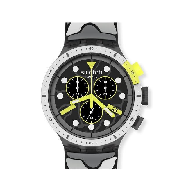 【SWATCH】BIG BOLD系列手錶ESCAPEARTIC極地探險(47mm)