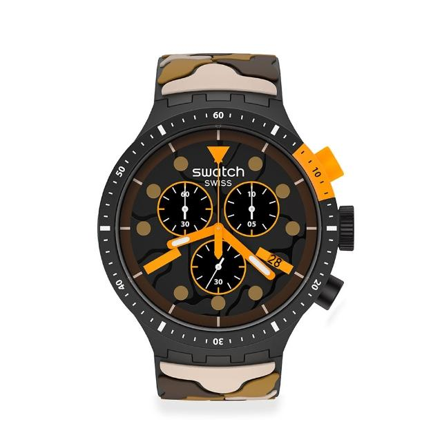 【SWATCH】BIG BOLD系列手錶ESCAPEDESERT沙漠之旅(47mm)