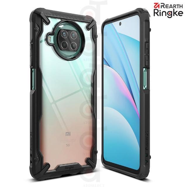 【Ringke】小米 10i / 10T Lite 5G Fusion X 防撞手機保護殼-黑(小米10T Lite 5G 防撞手機保護殼)