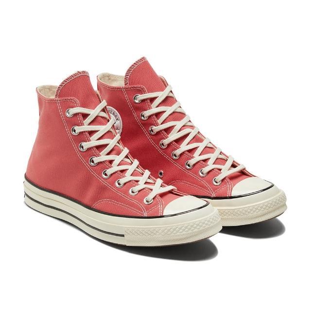 【CONVERSE】CHUCK 70 HI 高筒 男女 舒適 帆布鞋 休閒鞋 桃紅色(170790C)