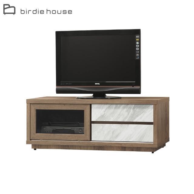 【柏蒂家居】卡米爾4尺一門二抽電視櫃/視聽櫃