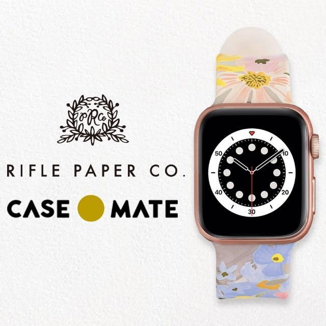 【CASE-MATE】x Rifle Paper Co. 限量聯名款 Apple Watch 38-40mm 錶帶(瑪格麗特)