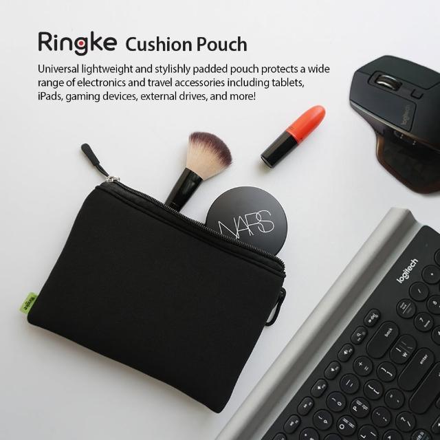 【Ringke】Cushion Pouch 輕便防震收納內袋(電子產品和旅行配件收納袋;28x21/28x14cm)