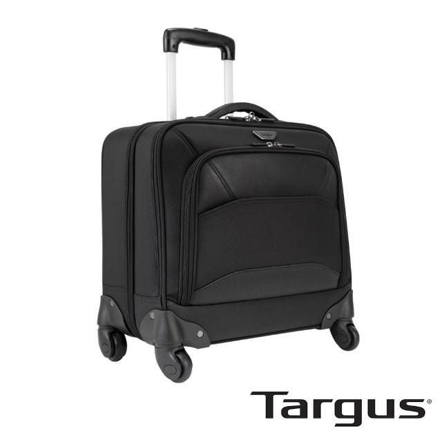 【Targus】Mobile ViP 極簡商務電腦拉桿箱(黑/15.6吋筆電適用)