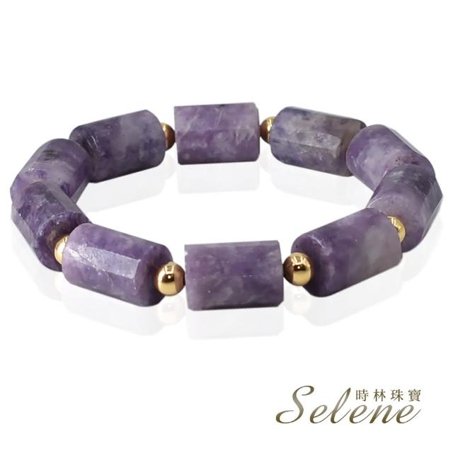 【Selene】手作紫雲母開運手鍊(限量設計款)