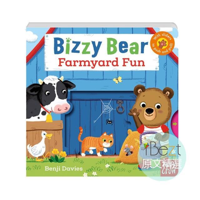 【iBezt】Farmyard Fun(Bizzy Bear超人氣硬頁QR CODE版)