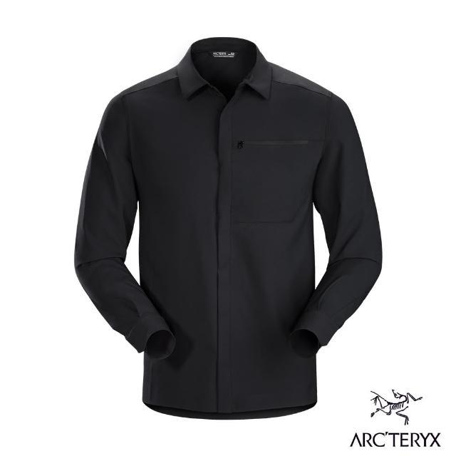 【Arcteryx 始祖鳥】男 24系列 Skyline 抗UV 長襯衫(黑)