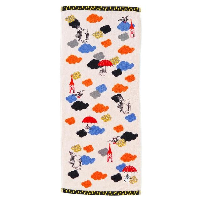 【Marushin 丸真】Moomin雲雨的冒險毛巾(Moomin)