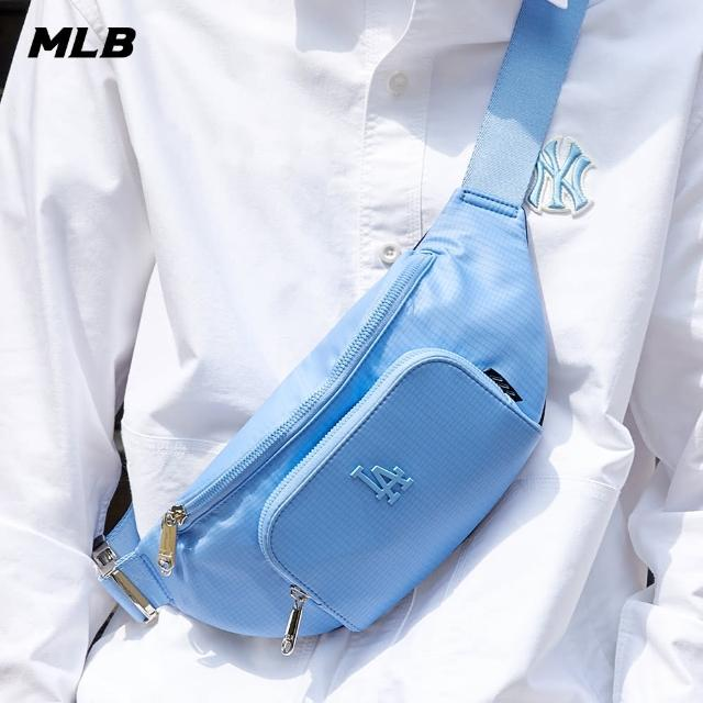 【MLB】腰包 抗撕裂 格紋 洛杉磯道奇隊(32BGCI111-07S)