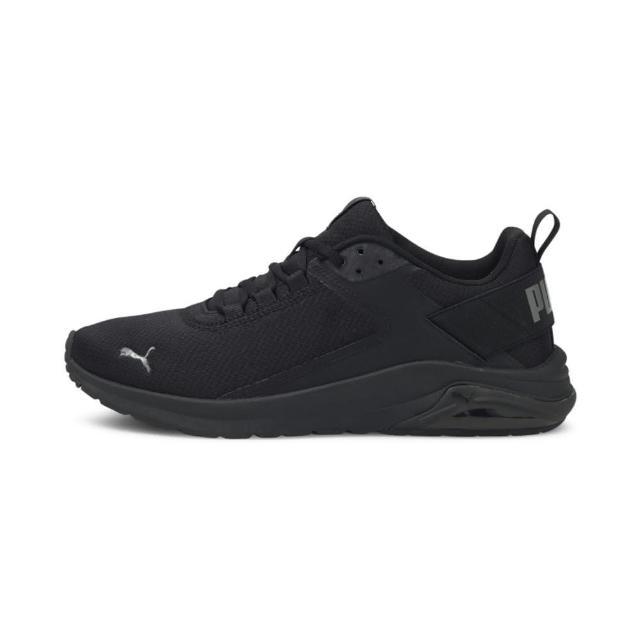 【PUMA】Electron E 男女款黑色運動慢跑鞋NO.38043501