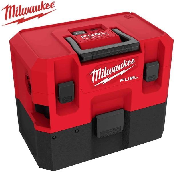 【Milwaukee 美沃奇】12V鋰電無碳刷乾濕兩用吸塵器空機(M12FVCL-0)
