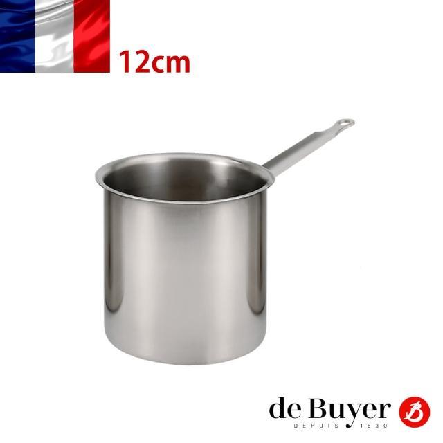 【de Buyer 畢耶】隔水加熱專用不鏽鋼單柄調理盆12cm