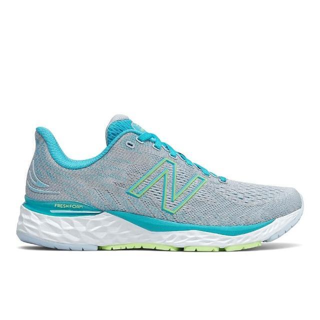 【NEW BALANCE】慢跑鞋 女鞋 運動鞋 緩震 訓練 灰藍 W880S11