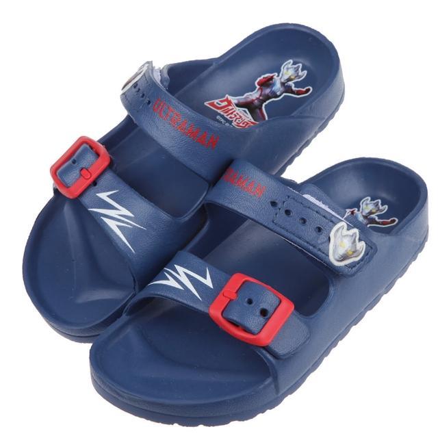 【布布童鞋】超人力霸王大河兒童輕量拖鞋(A1B248B)