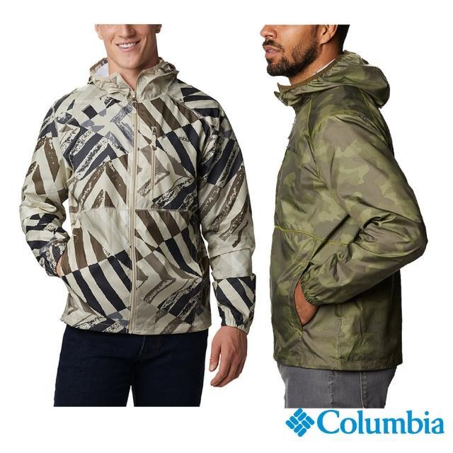 【Columbia 哥倫比亞】男款-防小雨風衣-2色(活動款 / 防水.夾克.透氣)