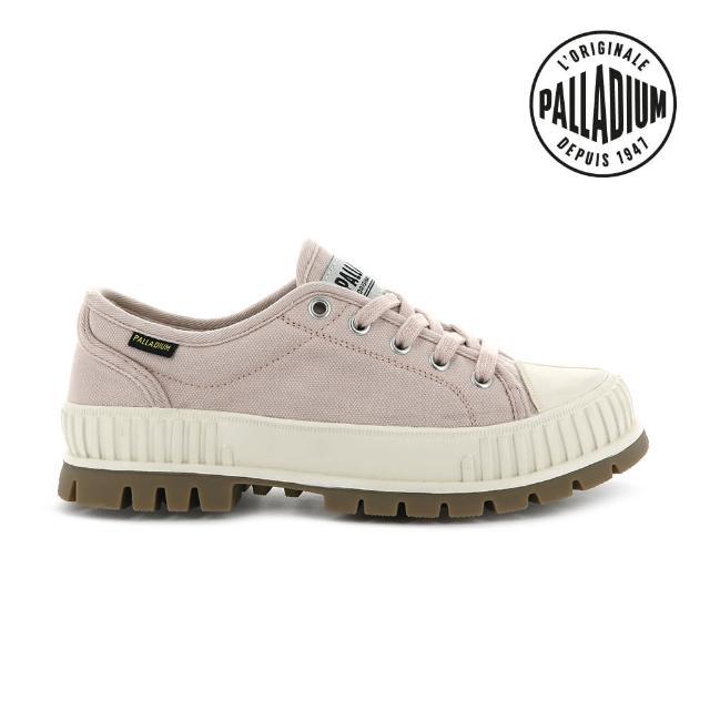 【Palladium】PALLASHOCK OG巧克力厚底鞋-中性-草莓奶昔(76680-629)