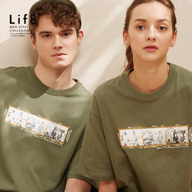 【Life8】Casual MIT 生存希望 印花短袖上衣(10522)