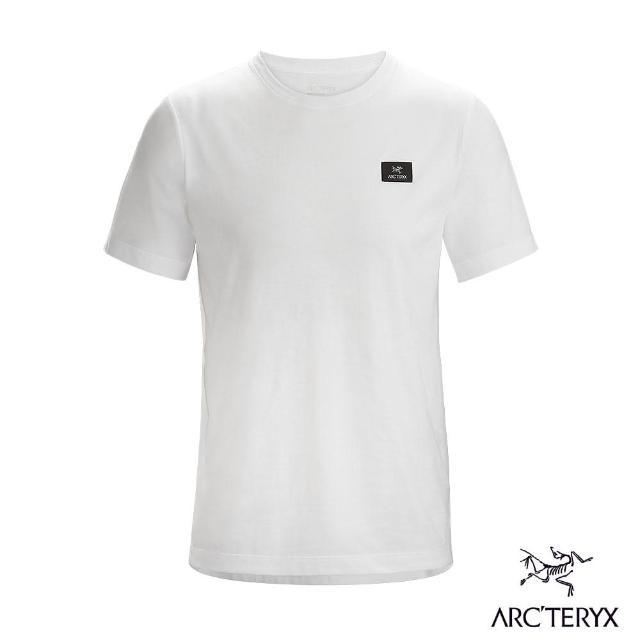 【Arcteryx 始祖鳥】男 24系列 Emblem Patch 100%有機棉 短袖休閒Tee(白)