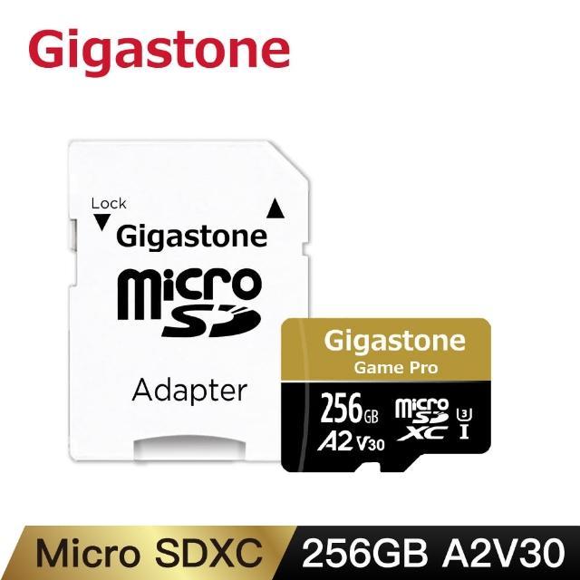 【Gigastone 立達國際】256GB micro SDXC UHS-Ⅰ U3 記憶卡(256G A2V30 高速記憶卡)