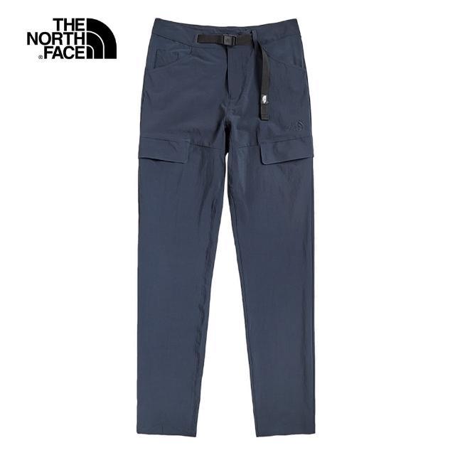 The North Face【The North Face】The North Face北面UE男款深藍色可調節腰帶休閒褲 498PH2G