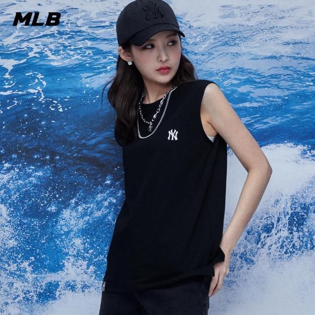 【MLB】無袖背心 小Logo 紐約洋基隊(31TK01131-50L)