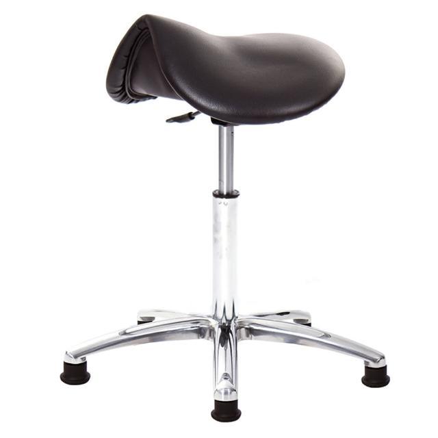【GXG 吉加吉】馬鞍型 工作椅 寬鋁合金腳座(TW-T05 LU1)