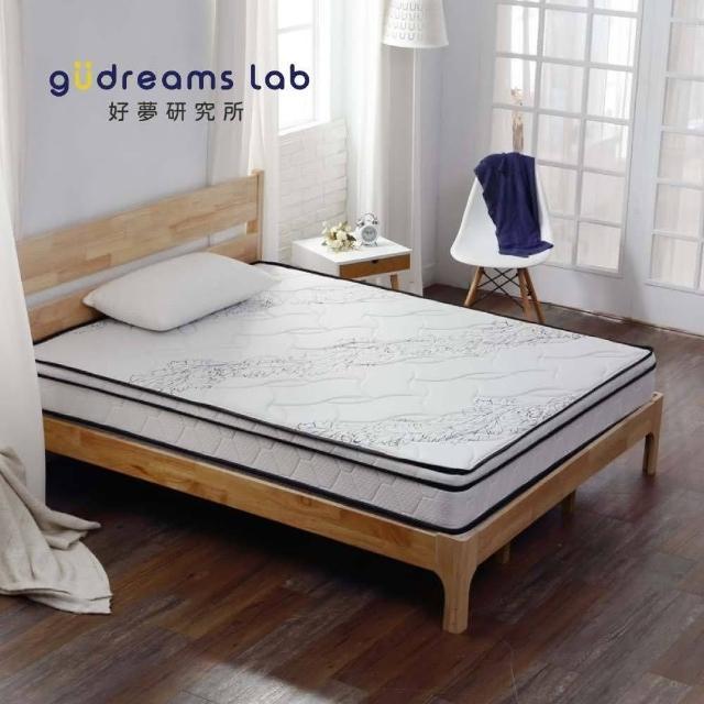 【Tronlife 好床生活】G08-4線加厚防瞞乳膠獨立筒 單人3尺(針織舒柔布)