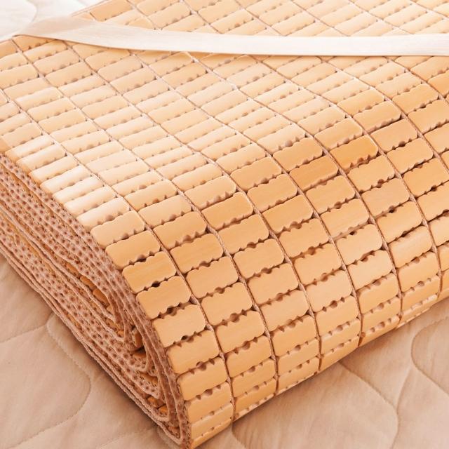 【Carolan】專利型孟宗竹 手作麻將蓆(雙人5x6尺)