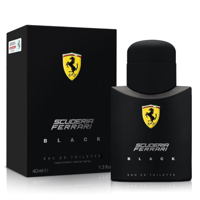 【Ferrari 法拉利】黑色法拉利男性淡香水40ml(原廠公司貨)