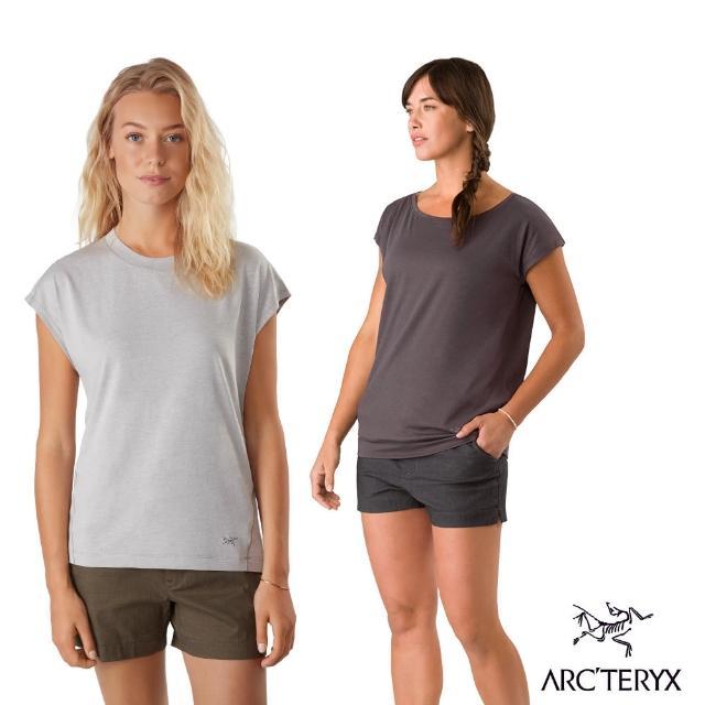 【Arcteryx 始祖鳥】女 24系列 Ardena 有機棉 短袖T恤 2款(4色)