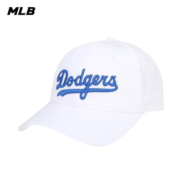 【MLB】棒球帽 橫Logo 帽深適合頭大者 洛杉磯道奇隊(32CPEC111-07W)