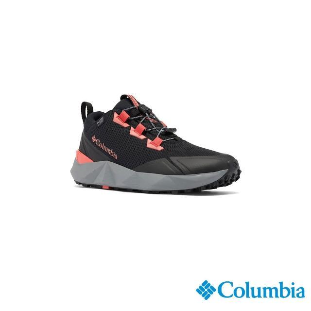 【Columbia 哥倫比亞】女款- Outdry防水都會健走鞋-黑色(UBL01320BK / 越野.運動.防水)