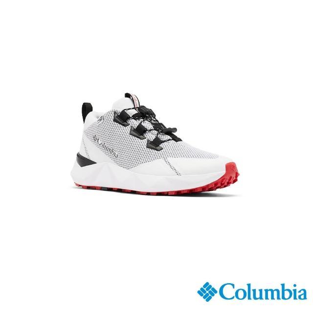 【Columbia 哥倫比亞】女款- Outdry防水都會健走鞋-白色(UBL01320WT / 越野.運動.防水)