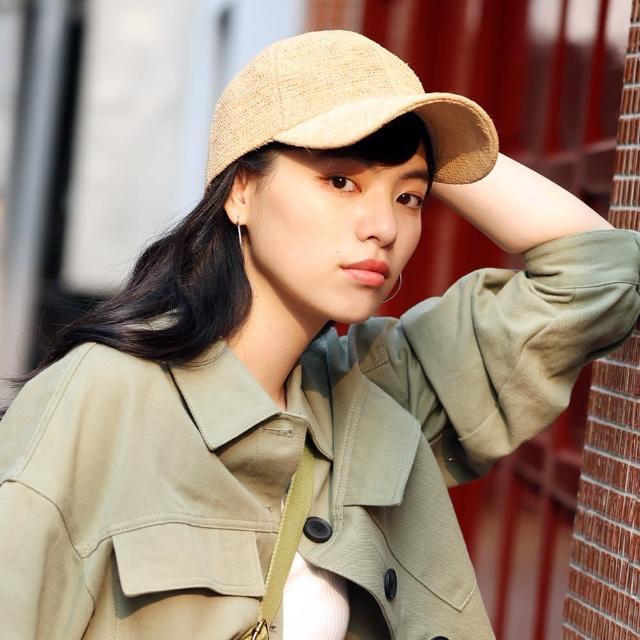 【tripose】NEO 手工Raffia鴨舌拉菲草帽(自然色)