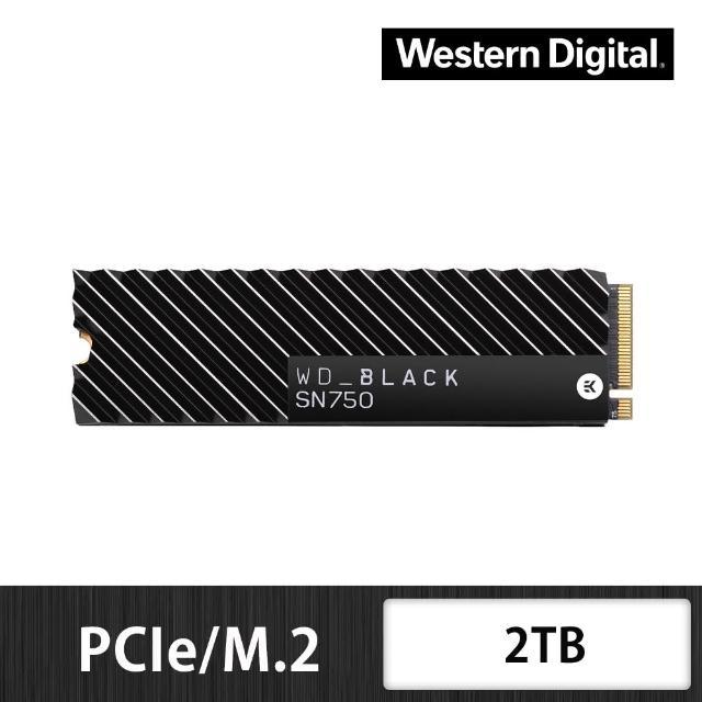 【外接盒組】【WD 威騰】黑標 SN750 2TB M.2 2280 PCIe Gen NVMe 固態硬碟+華碩 ROG 外接盒