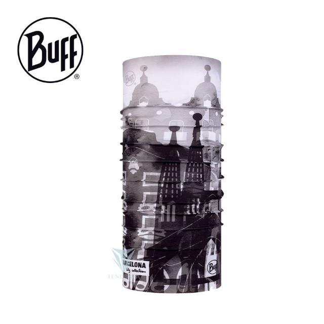 【BUFF】BF123423 經典頭巾 Plus-城市系列-巴塞隆納(BUFF/經典頭巾/Original)