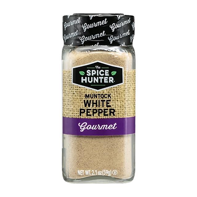 【Spice Hunter 香料獵人】美國原裝進口 白胡椒粉(59g)