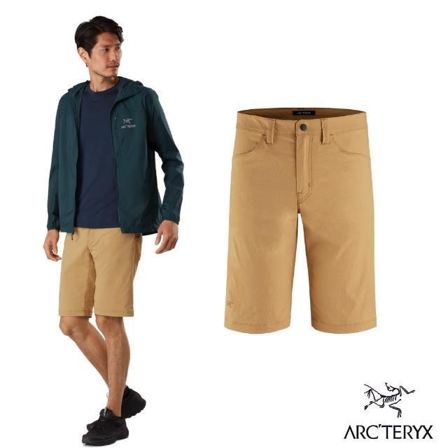 【Arcteryx 始祖鳥】男 24系列 Russet 休閒短褲(穆圖黃)