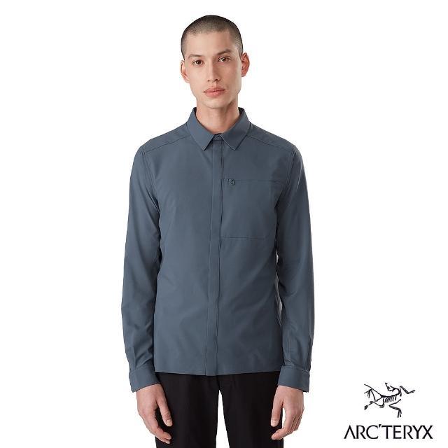 【Arcteryx 始祖鳥】男 24系列 Skyline 抗UV 長襯衫(夜禱灰)