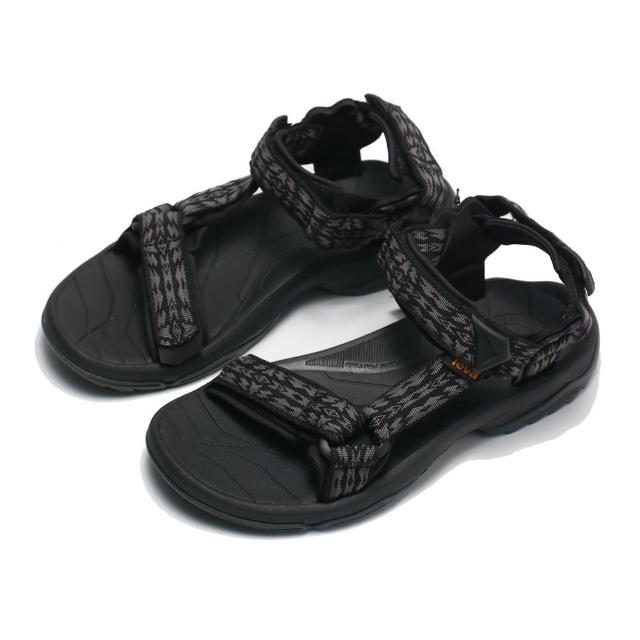 【TEVA】涼鞋 黑 水陸機能 漫步者 編織 黏帶 TERRA FI LITE 男(TV1001473RRBK)