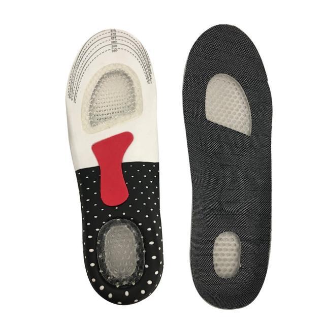 【酷比高】專利鞋墊 足部超導舒壓器 透氣按摩鞋墊2雙(蜂巢緩衝彈性減壓 鞋墊 足弓支撐磁性鞋墊)
