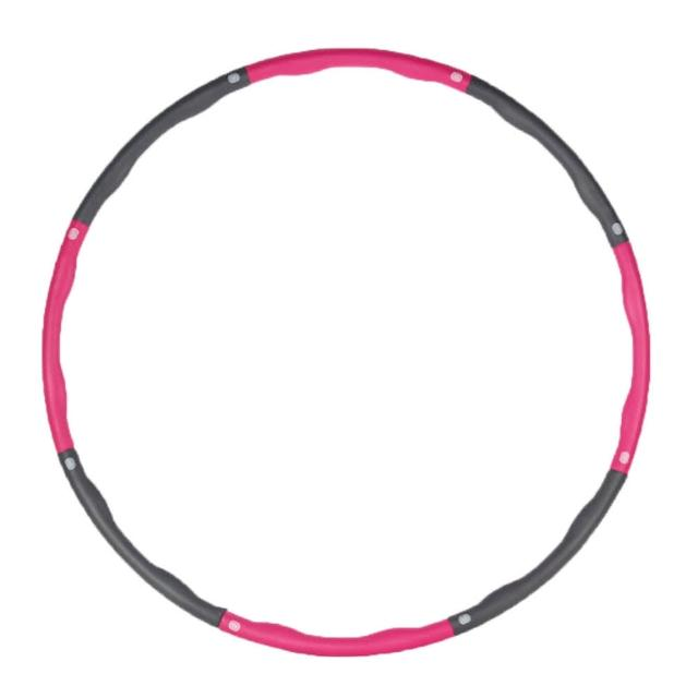 【PUSH!】運動用品可拆卸拼接式成人兒童泡棉呼拉圈瘦腰腰瘦圈(H25)
